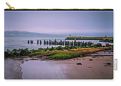 Carry-all Pouch featuring the photograph Old Columbia River Docks by Bryan Carter