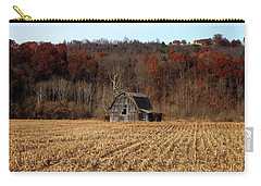 Old Country Barn In Autumn #1 Carry-all Pouch