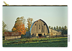 Old Country Barn_9302 Carry-all Pouch by Michael Peychich