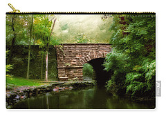 Old Country Bridge Carry-all Pouch by Jessica Jenney