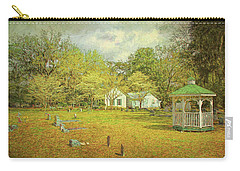 Old Country Church Carry-all Pouch by Lewis Mann