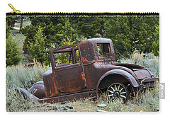Old Coupe In Bad Condition Carry-all Pouch