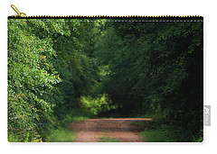 Carry-all Pouch featuring the photograph Old Dirt Road by Shelby Young