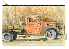 Old Dodge Truck In Autumn Carry-all Pouch