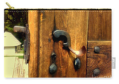 Old Door Handle Carry-all Pouch