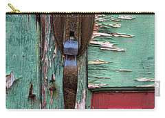 Old Door Knob 2 Carry-all Pouch by Joanne Coyle
