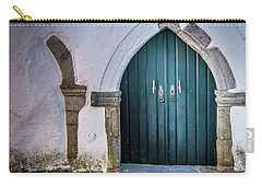 Old Doorway In Monsaraz Carry-all Pouch