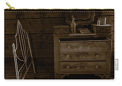 Old Dresser And Bed Carry-all Pouch