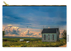 Old Evangeline Church Carry-all Pouch by Ken Morris