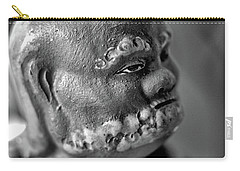 Old Face, Statue Carry-all Pouch