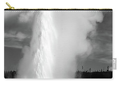 Carry-all Pouch featuring the photograph Old Faithful by Colleen Coccia