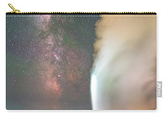 Old Faithful Erupts At Night Carry-all Pouch