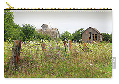 Carry-all Pouch featuring the photograph Old Farm Iowa by Christopher McKenzie