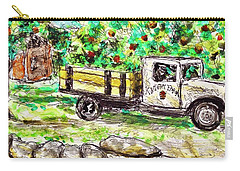 Old Farming Truck Carry-all Pouch