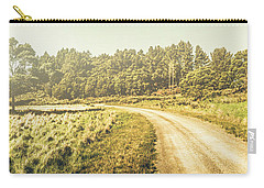 Old-fashioned Country Lane Carry-all Pouch