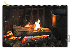 Old Fashioned Fireplace Carry-all Pouch