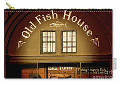 Old Fish House Georgetown South Carolina Carry-all Pouch