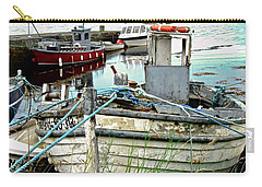 Old Fishing Boats Carry-all Pouch by Stephanie Moore