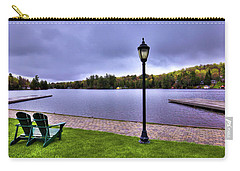 Old Forge Waterfront Carry-all Pouch by David Patterson