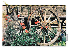 Old Freight Wagon Carry-all Pouch