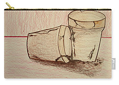 Old Friends   Bill Oconnor Carry-all Pouch by Bill OConnor