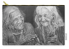 Old Friends, Smokin' And Jokin' 2 Carry-all Pouch