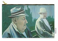 Old Friends Carry-all Pouch by Susan Lafleur