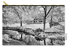 Carry-all Pouch featuring the photograph Old Frontier House by Paul W Faust - Impressions of Light