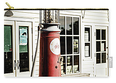 Carry-all Pouch featuring the photograph Old Fuel Pump by Alexey Stiop