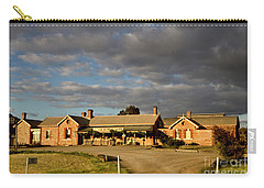 Old Ghan Railway Restaurant Carry-all Pouch by Douglas Barnard