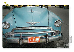 Old Havana Cab Carry-all Pouch by Quin Sweetman