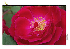 Old Homestead Rose Carry-all Pouch
