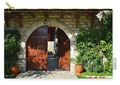 Old House Door Carry-all Pouch by Nuri Osmani