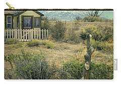 Old House Near Mountians Carry-all Pouch by Jill Battaglia
