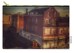 Carry-all Pouch featuring the photograph Old House On The Corner by Miriam Danar