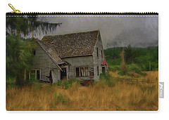 Old House On The Prairie Carry-all Pouch