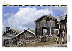 Old Houses In Roeros Carry-all Pouch