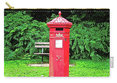 Old Irish Mailbox Carry-all Pouch by Stephanie Moore