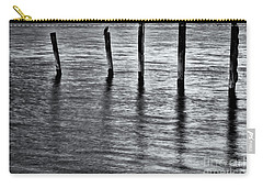 Carry-all Pouch featuring the photograph Old Jetty - S by Werner Padarin
