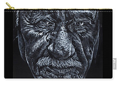 Carry-all Pouch featuring the painting Old Joe by John Neeve