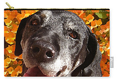 Old Labrador Carry-all Pouch