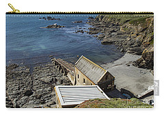 Carry-all Pouch featuring the photograph Old Lifeboat Station by Brian Roscorla