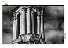 Old Main Black And White Carry-all Pouch