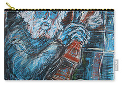 Old Man's Violin Carry-all Pouch