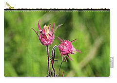 Carry-all Pouch featuring the photograph Old Man's Whiskers by Ann E Robson
