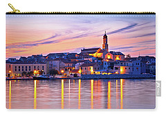 Old Mediterranean Town Of Betina Sunset View Carry-all Pouch