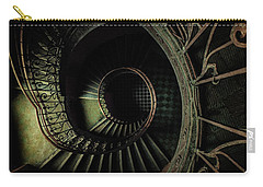 Old Metal Ornamented Staircase Carry-all Pouch