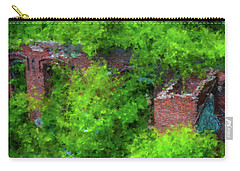 Old Mill Building In Lawrence Massachusetts Carry-all Pouch