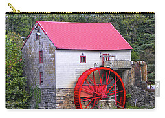 Old Mill Of Guilford Squared Carry-all Pouch by Sandi OReilly