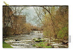 Old Mill On The River Carry-all Pouch